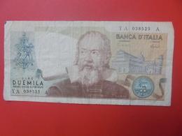 ITALIE 2000 LIRE 1973-83 CIRCULER(B.5) - 2000 Lire