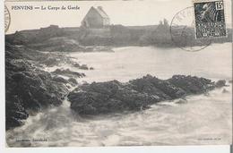 PENVINS. CP Voyagée  Le Corps De Garde - France