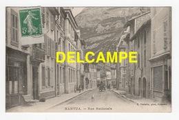 DD / 01 AIN / NANTUA / RUE NATIONALE /ANIMÉE / 1914 - Nantua