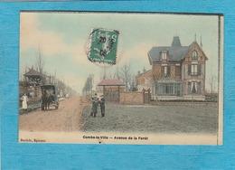 Combs-la-Ville. - Avenue De La Forêt. - Combs La Ville