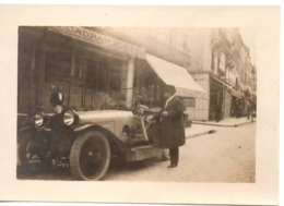 Automobile C.1920 - Photo Cadran Bleu Fontainebleau - Cars