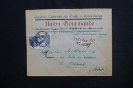 FRANCE - Enveloppe Commerciale En Recommandé Provisoire De Nevers Pour Orléans En 1947 - L 51368 - 1921-1960: Moderne