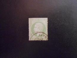 FRANCE YT20 NAPOLEON III 5c. Vert Cachet à Date - 1862 Napoleon III