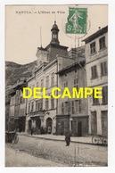 DD / 01 AIN / NANTUA / INTÉRIEUR DE L' ÉGLISE / L' HÔTEL DE VILLE / ANIMÉE  / 1914 - Nantua