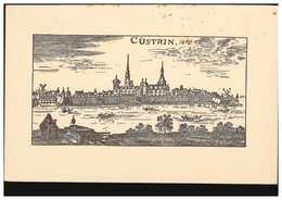 AK Cüstrin Um 1690, Feldpost BS Feld-Artill.-Regiment 54 CÜSTRIN/ALTSTADT 7.3.17 - Deutschland