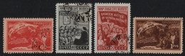 Russia / Sowjetunion 1950 - Mi-Nr. 1507-1510 Gest / Used - Frieden - 1923-1991 UdSSR