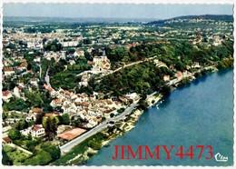 CPM Dentelées - HERBLAY - Vue Générale Aérienne - Quai De Seine 95 Val D'Oise - N° 497-12 - Edit. COMBIER  Macon - Herblay