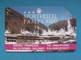 ITALIA SIP - 3257 C&C 166 GOLDEN - PRIVATE PUBBLICHE - PAMPEAGO SPORT HOTEL - USATA - Italië
