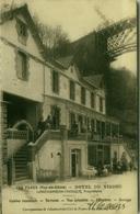 CPA FRANCE - LES FADES - PUY DE DOME - HOTEL DU VIADUC - LONCHAMBON THINQUE PROPRIETAIRE - AUTOMOBILE CLUB  ( 7291) - Francia