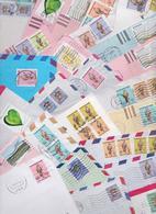 EMIRATS ARABES UNIS UNITED ARAB EMIRATES UAE DUBAÏ ABU DHABI Beau Lot De 135 Enveloppes Timbrées Stamps Air Mail Covers - Autres