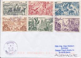 NEUKALEDONIEN / NOUVELLE CALEDONIE / KOUMAC  - 2016 , Vom Tschad An Den Rhein - Brief Nach Berlin - Luftpost