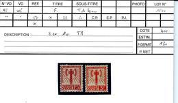 N° 8 Et 10 - Impecs ! Cote 80€ - Mint/Hinged