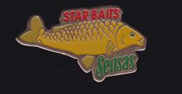 61409- Pin's-star Baits.sensas.poisson.peche... - Animaux
