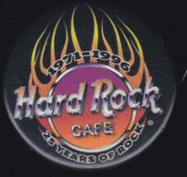 61439-vieux Badge.Hard Rock Café.1971-1996... - Musique