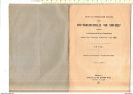 OD 109 X - GILDE VAN ONDERLINGE BIJSTAND TE OUDENAARDE 1899 - KEURE - Documents Historiques