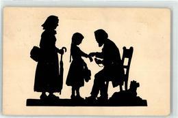 52703503 - Schirmer, Anna Frau Kind Hund Ackermann Kunstverlag 1740 - Silhouettes