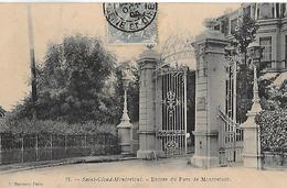 Saint Cloud. L'entrée Du Parc De Montretout. - Saint Cloud