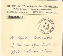 Seine Et Marne :- FONTAINEBLEAU * P.P. JOURNAUX * Sur Bande Journal - Marcofilia (sobres)