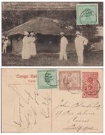 Belgisch Congo Belge Entier Postal Postwaardestuk Le Ministre Des Colonies A Une Mission Protestante Epoque Coloniale - Entiers Postaux