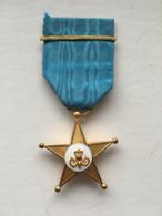 Médaille Etoile De Service Congo Belge Avec Une Raie - België