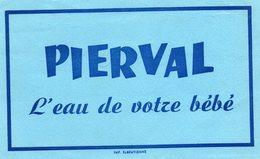 Buvard Pierval (eau à Pont Saint Pierre) Bleu - P