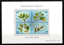 MONACO Yvert Bloc N° 68** Les Quatre Saisons - Machine Stamps (ATM)