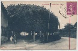 Cpa Dép 27 Eure Saint Marcel Les Tilleuls - Andere Gemeenten