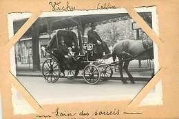 03 Vichy : Lot De Deux Photo Dont Attelage - Vichy