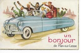 HAN-SUR-LESSE  Un Bonjour De Han. - Rochefort