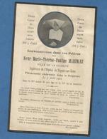 IMAGE GENEALOGIE FAIRE PART AVIS DECES RELIGIEUX  SOEUR CORNETTE CHARITE HOPITAL NOGENT SUR SEINE MARTELEZ 1921 - Décès
