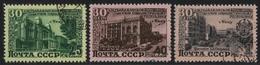 Russia / Sowjetunion 1950 - Mi-Nr. 1477-1479 Gest / Used - Aserbaidschan - 1923-1991 UdSSR