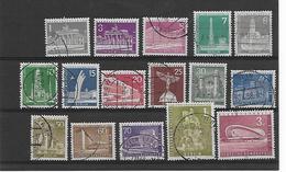 Berlijn  N° 125/135A  Cote Yvert 2014  55 Euro - Usados