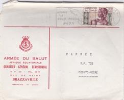 CONGO :  Lettre à Entête De L'Armée Du Salut De Brazzaville Pour Pointe Noire 1967 - Congo - Brazzaville