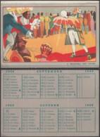 """Belgique - Calendrier De L'année 1928 Publicitaire """"Philips"""" Au Format CP. (RD271)DC5785 - Advertising"""