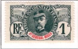 Ex Colonie Française  *  Haut Sénégal & Niger  *  Poste 1 N** - Unused Stamps