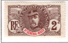 Ex Colonie Française  *  Haut Sénégal & Niger  *  Poste 2 N** - Unused Stamps