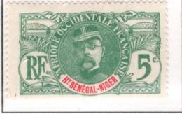 Ex Colonie Française  *  Haut Sénégal & Niger  *  Poste  4  N** - Unused Stamps