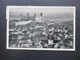 Slowakei AK 1939 Bratislava Celkovy Pohlad Stempel Prievoz MiF Slovesko / Sloveska Posta - Cartas