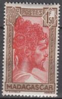 N° 176 A - X X - ( C 1929 ) - Gomme Tropicale - Madagascar (1889-1960)