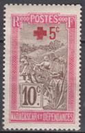 N° 121 - X - ( C 1920 ) - Madagaskar (1889-1960)