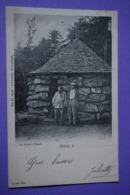 CPA 88 ETIVAL LA PIERRE D'APPEL ANIMEE Canton RAON L'ETAPE 1904 - Etival Clairefontaine