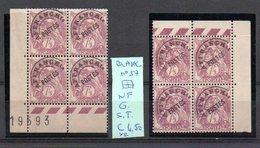 MAURY N° 57  BLANC   NF G. Sans Trace  1926  Lot N° 135 - Preobliterati