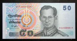 Thailand Banknote 50 Baht Series 15 P#112 Type 2 SIGN#74 Prefix 0Aก - Thailand