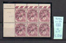 MAURY N° 57  BLANC   NF G. Sans Trace  1926  Lot N° 136 - Preobliterati
