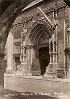 (C).Pesaro.Chiesa Di S. Agostino.Portale.Viaggiata (c20) - Pesaro