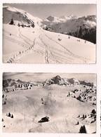 Morzine: 2 Cartes Du Plénay: Pistes De Ski Et Champs De Ski - - Morzine