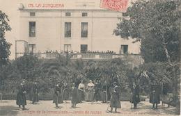 LA JUNQUERA - N° 175 - COLEGIO DE LA INMACULADA - JARDIN DE RECREO - Gerona