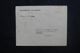 FRANCE - Enveloppe Du Député Mitterrand Pour Orléans En 1953 , Affranchissement Mécanique - L 51412 - Storia Postale