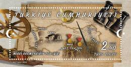 AC -  TURKEY BLOCK STAMP  - CENTENARY OF THE NATIONAL SOVEREIGNTY  MNH 28 JANUARY 2020 - 1921-... Republiek