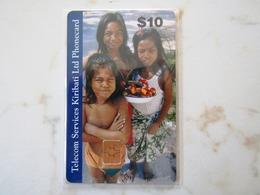 KIRIBATI  FIRST SET   CHIP   $10   MINT - Kiribati